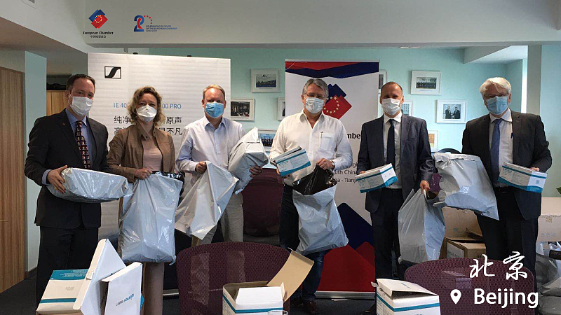 European Chamber Donates 10,000 Masks to Medical Institutions in Spain and Italy